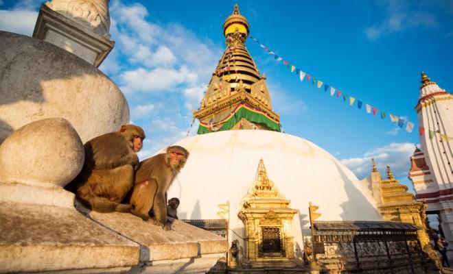 仏教とヒンドゥー教の聖地、カトマンズ